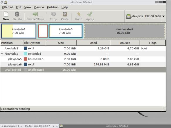 Expanding harddisk size | FileCap